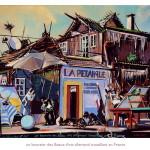 un boursier des Beaux-Arts allemand travaillant en France